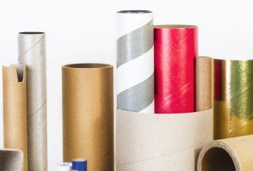 Cardboard tubes and cardboard cores